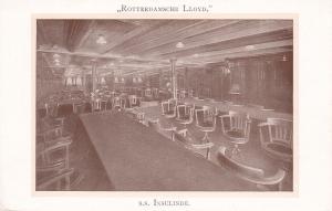 Rotterdamsche Lloyd Ocean Liner S.S. INSULINDE , Interior , 00-10s