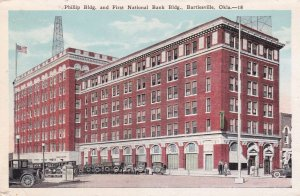 BARTLESVILLE, Oklahoma, 1910-30s; Phillip Bldg, First National Bank Building