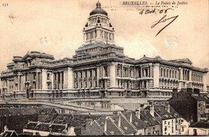 Belgium Brussels La Palais de Justice 1910