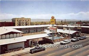 Route 66 Post card  Overland Motel