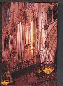 Organ Pipes Washington Cathedral DC Postcard BIN