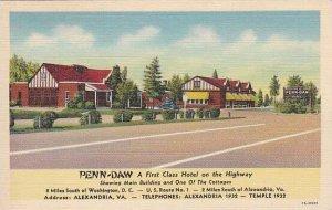 Virginia Alexandria Penn Daw A First Class Hotel On the Highway