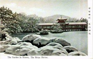 CPA AK The Heian Shrine The Garden in winter JAPAN (677206)