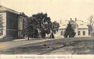 RPPC Quadrangle Colgate University Hamilton NY  #79 Unused ca 1901-1907 Postcard
