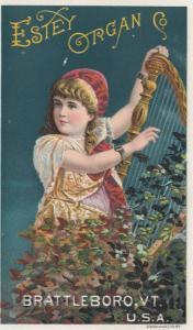 TC : Estey Organ , BRATTLEBORO , Vermont , 1890s