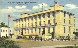 Pensacola, FL USA Post Office Unused