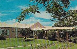 Bermuda Paget Parish Entrance Harmony Hall Hotel 1966