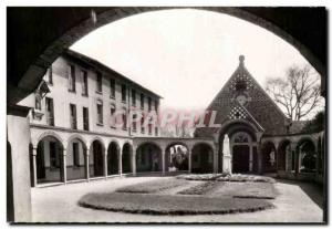 Old Postcard Montmagny The Seminar Inner View