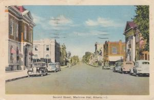 Second Street , MEDICINE HAT , Alberta , Canada , PU-1940