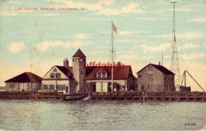 LIFE SAVING STATION, CLEVELAND, OH 1913