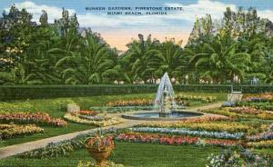 FL- MIami Beach - Sunken Gardens at the Firestone Estate