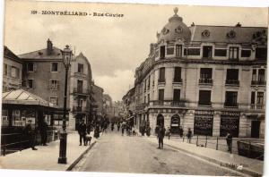 CPA MONTBÉLIARD - Rue Cuvier (183011)