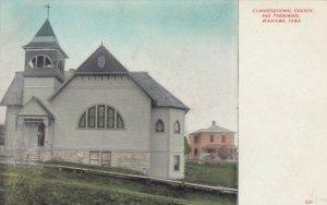 WAUCOMA , Iowa, 1900-10s ; Congregational Church