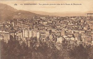 Algeria Constantine Vue generale generale prise de la Route de Mansourah