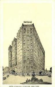 Hotel Syracuse Syracuse NY Unused