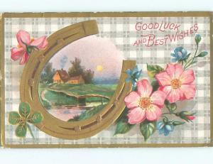 Divided-Back BEAUTIFUL FLOWERS SCENE Great Postcard AA3039