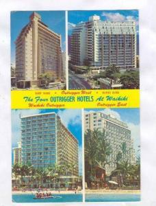 The Waikiki Outrigger Hotel, Honolulu , Hawaii, PU-1980