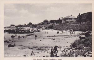 Massachusetts Rockport Old Garden Beach Albertype