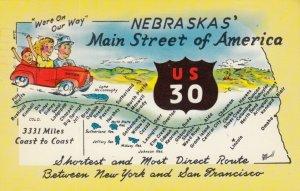 NEBRASKAS' Main Street of America, US 30, PU-1963