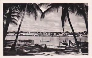 Cote D'Ivoire Ivory Coast Abidjan vu de Treicheville Real Photo