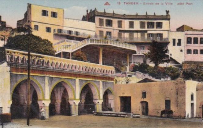 Morocco Tanger Entree de la Ville
