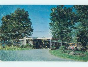 Pre-1980 FOUNTAIN MOTEL Fayetteville Arkansas AR M4931