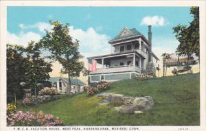 Connecticut Meriden Y W C A Vacation House West Peak Hubbard Park Curteich