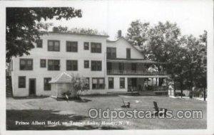 Prince Albert Hotel on Tupper Lake, Moody, New York, USA Motel Hotel Postal u...