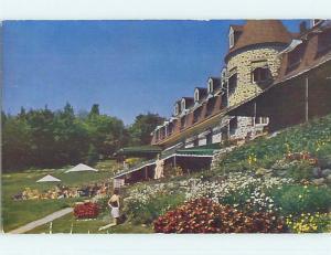Pre-1980 TOWN VIEW SCENE St. Sainte-Adele Quebec QC p9593