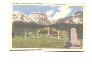 The Great Divide,  Alberta, Byron Harmon, Made in Canada