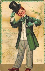 Artist Ellen Clapsaddle Saint Patrick's Day Postcard 1908