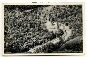 The Loop Great Smoky Mountains National Park Postcard Standard View Card