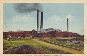 Nickle Smelter, Copper Cliff , Ontario , Canada , PU-1942