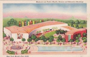 New York World's Fair 1939 Medicine Public Health Science & Education Blg sk1901