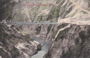 New Zealand Shotover Skippers Bridge