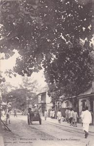 MADAGASCAR, 00-10s;  TAMATAVE.- La Rue du Commerce