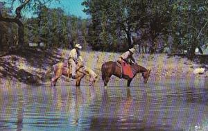 Texas Mcallen Texas Rangers On Quarter Horses