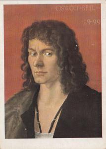 Albrecht Durer Oswolt Krel art postcard