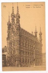 Leuven, Belgium, 00-10s L'Hotel de Ville