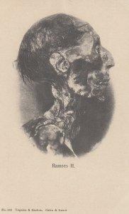 Pharaoh Ramses II  , Egypt , 1901-07
