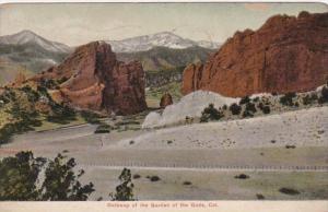 Colorado Gateway Of The Garden Of The Gods 1910