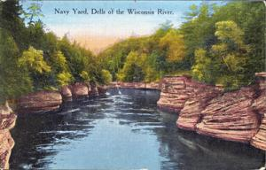 THE DELLS - NAVY YARD on the Dells of The Wisconsin River 1910s