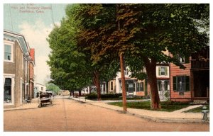 Connecticut  Danielson ,   Main and Academy Streets