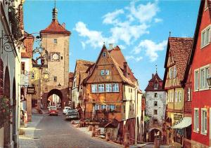 Rothenburg ob der Tauber Am Ploenlein Auto Vintage Cars Voitures