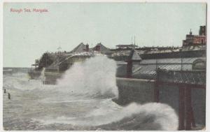 Kent; Rough Sea, Margate PPC Unposted, Pre WW1