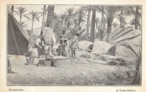 br104948 a camp bakery mesopotamia  iraq