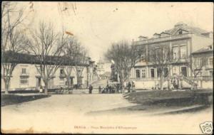 portugal BRAGA, Praca Mousinho d'Albuquerque 1906 Stamp