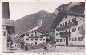 Partial Street View, ERL i. Tirol, Austria, 1910-1920s