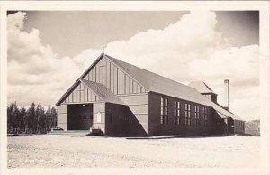 Idaho Farragut Naval Training Center Lexington Memorial Chapel Real Photo RPPC