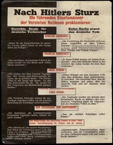 Anti-Nazi After Hitlers Fall Allied Propaganda Feldpost Leaflet 82650